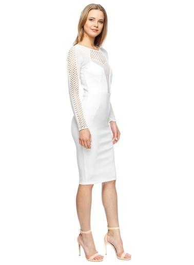 Missguided Elbise Beyaz